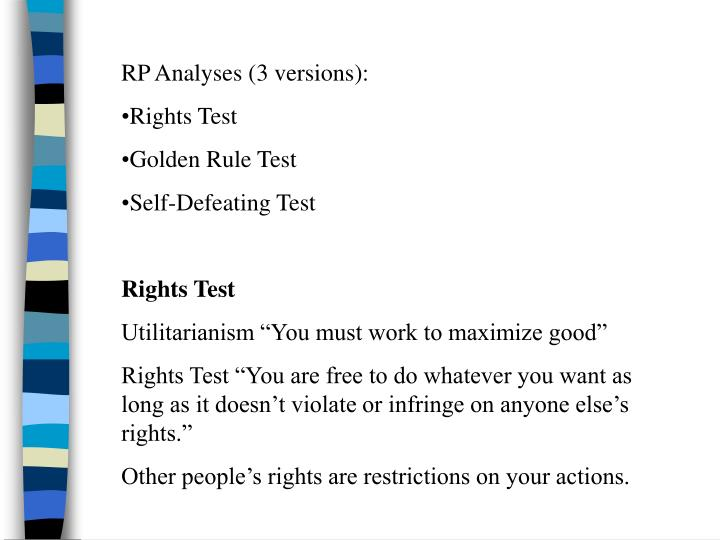 RP Analyses (3 versions):