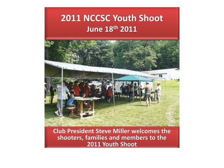 2011 nccsc youth shoot june 18 th 2011 n.