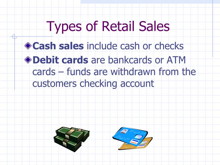 Types of Retail Sales