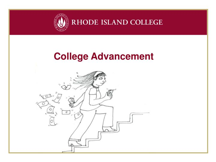 College Advancement