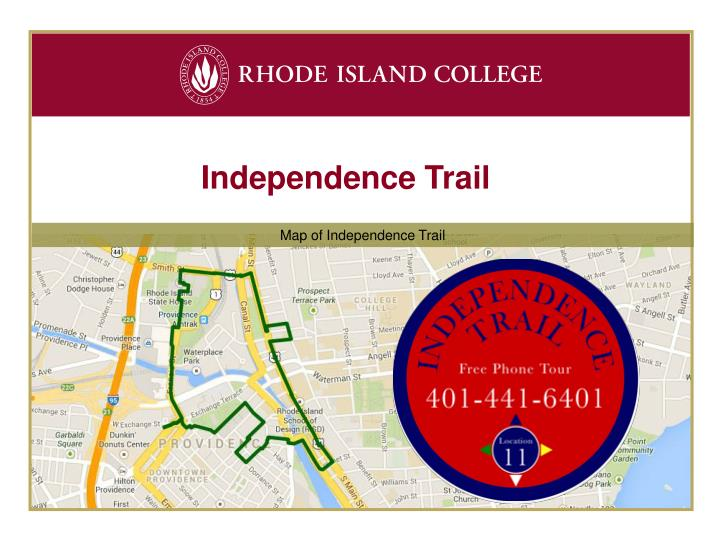 Independence Trail