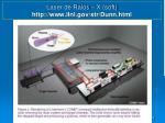 laser de raios x soft http www llnl gov str dunn html