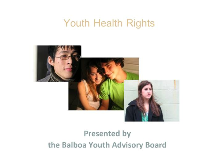 youth health rights n.