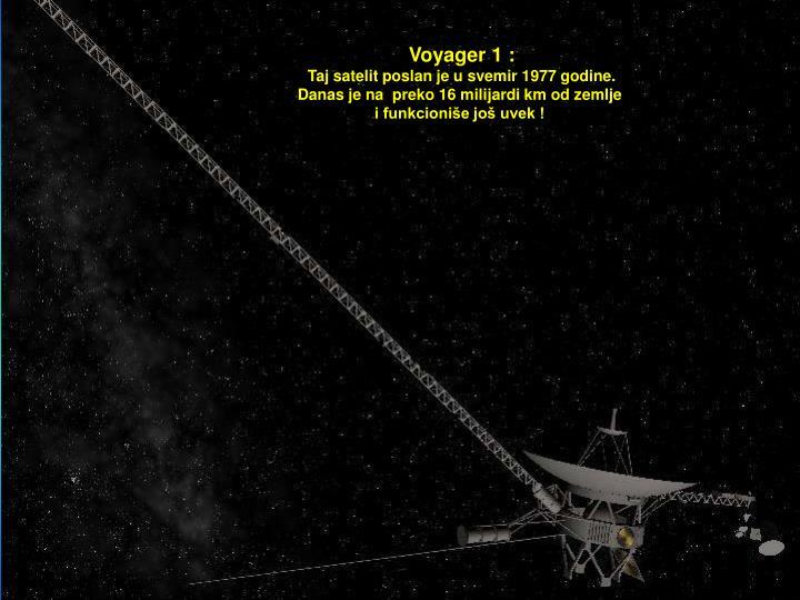Voyager 1 :