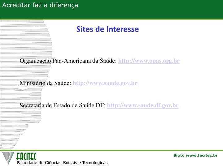 Sites de Interesse
