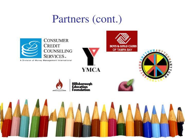 Partners (cont.)
