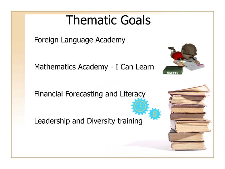 Thematic Goals