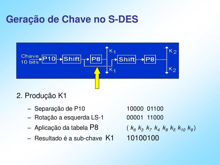 Geração de Chave no S-DES
