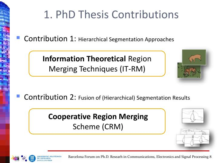 Phd thesis forum