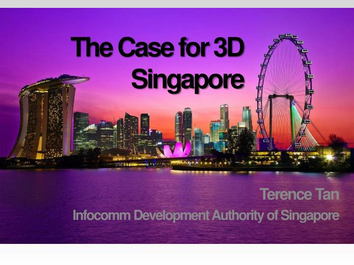 the case for 3d singapore n.