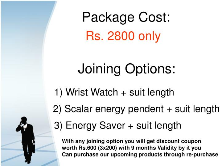 Package Cost: