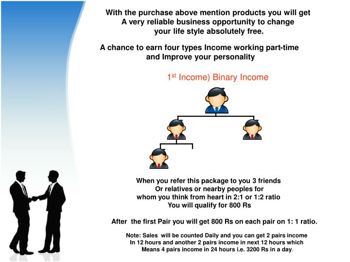 With the purchase above mention products you will get