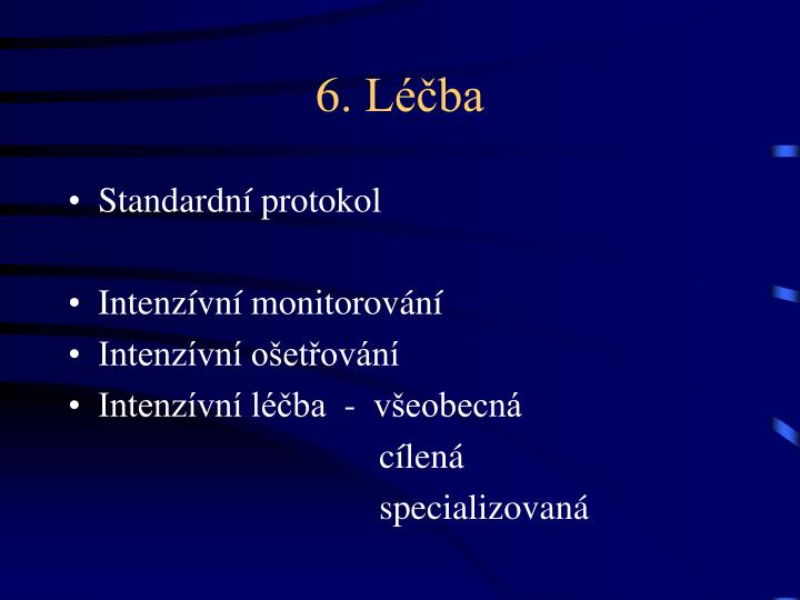 6. Léčba