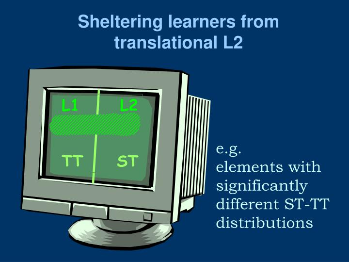 Sheltering learners from