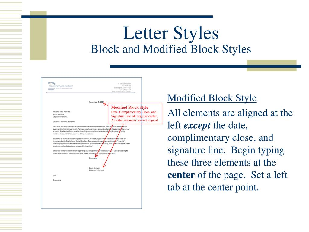 Complimentary Close In A Letter from image2.slideserve.com