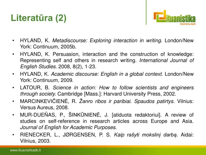 Literatūra (2)