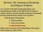 review the anatomy of humanity according to scripture2