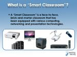 what is a smart classroom