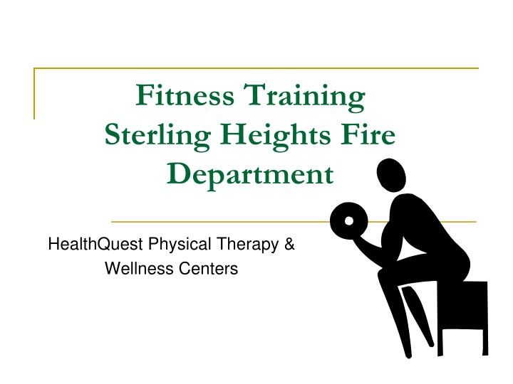 fitness training sterling heights fire department n.