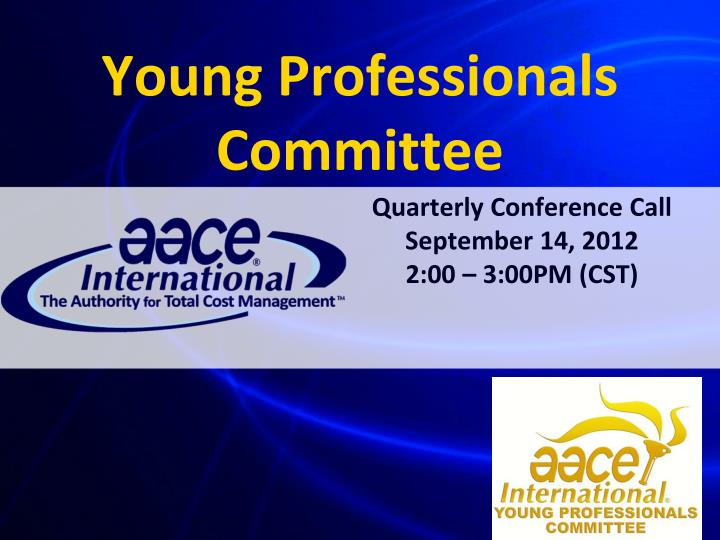 Young professionals committee