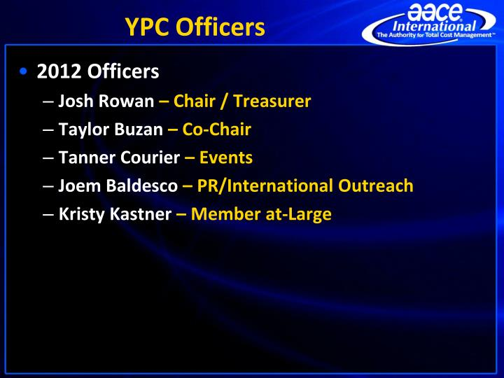 YPC Officers