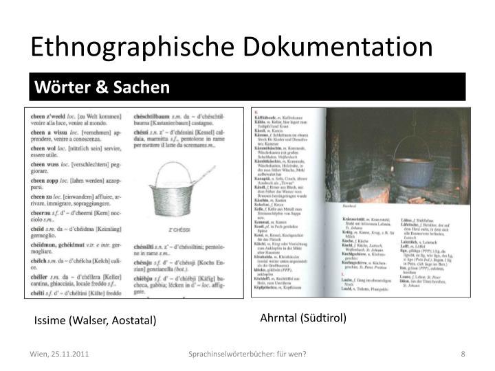 Ethnographische Dokumentation
