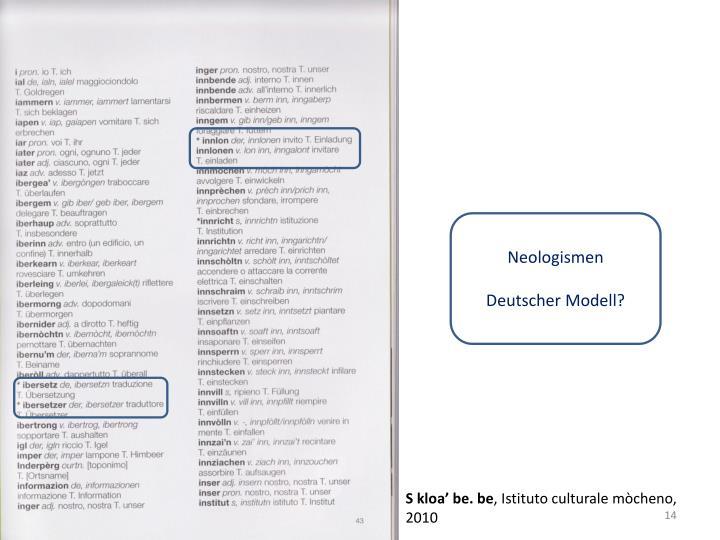 Neologismen