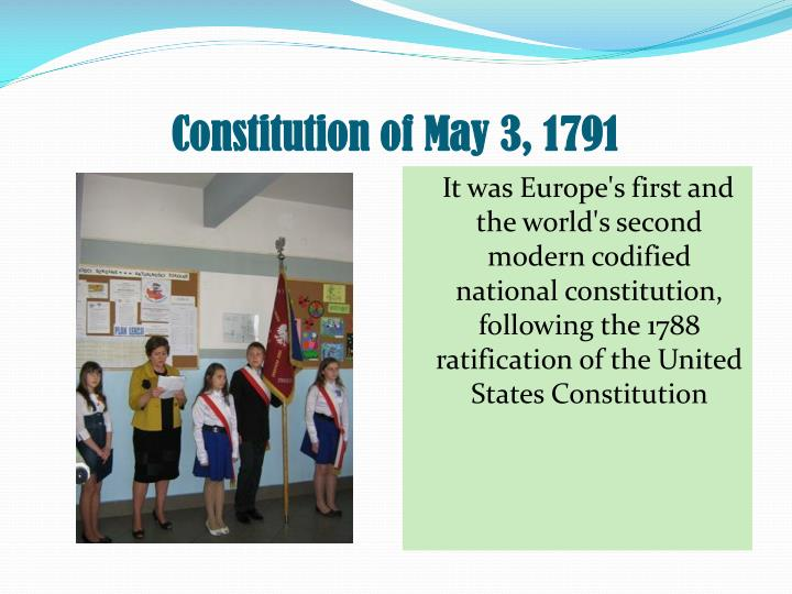 Constitution of May 3, 1791