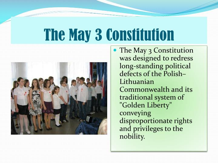 The May 3 Constitution