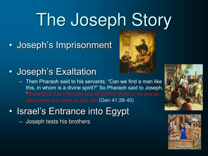 The Joseph Story