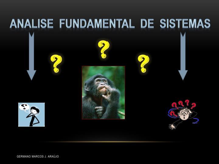 Analise  fundamental  de  sistemas