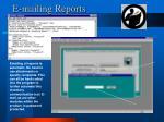 e mailing reports