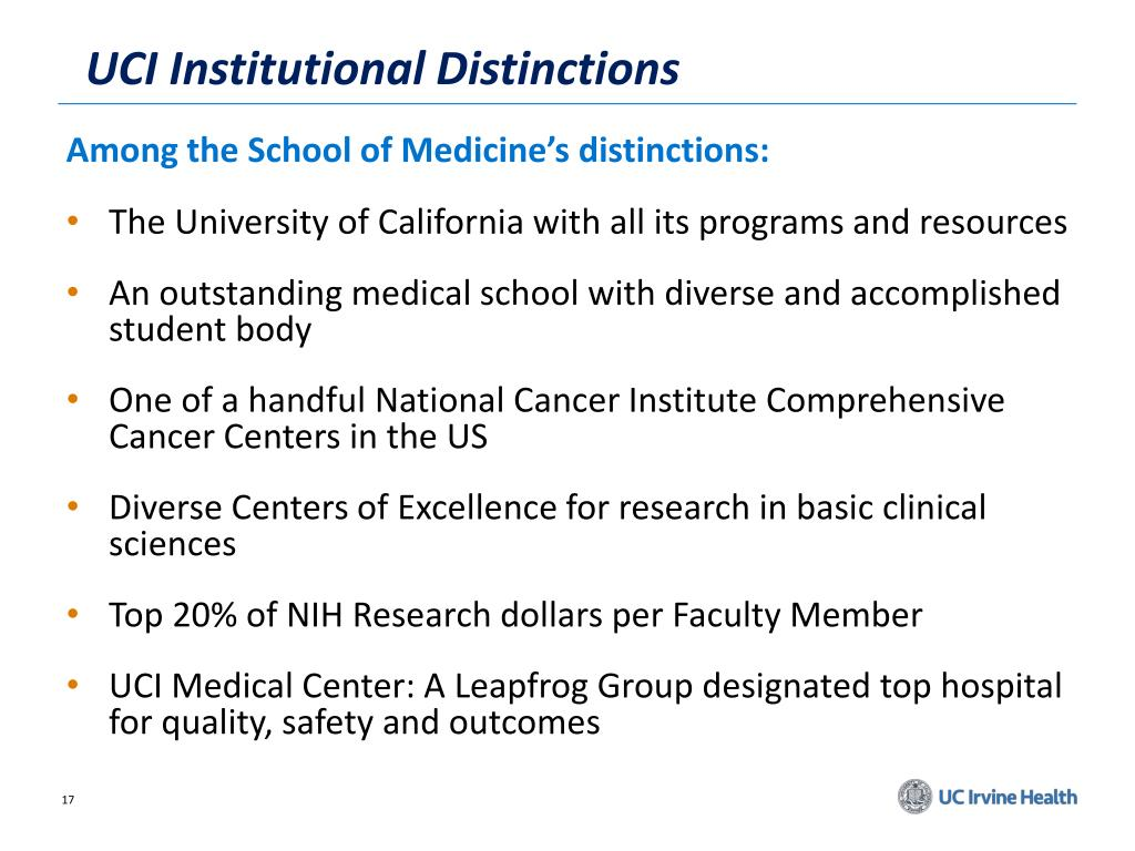 PPT - UC Irvine Department of Medicine PowerPoint