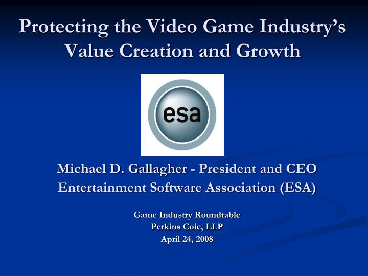 video game industry analysis