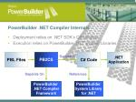 powerbuilder net compiler internals