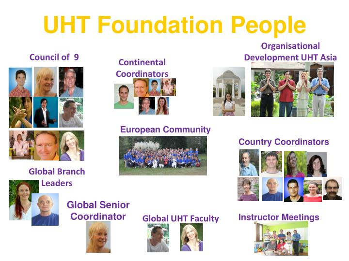 UHT Foundation People
