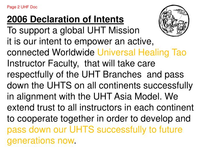 Page 2 UHF Doc