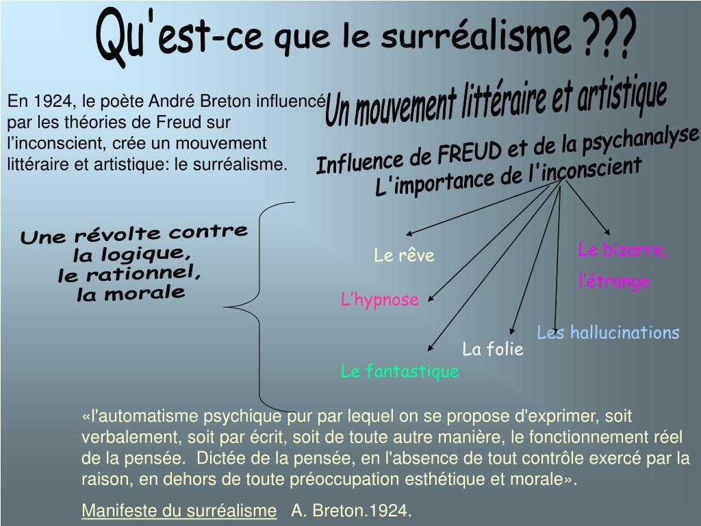 Ppt La Litterature En Cliquant Powerpoint Presentation
