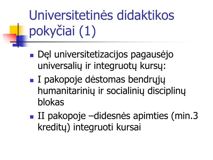 Universitetinės didaktikos pokyčiai (1)