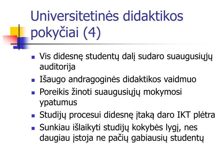 Universitetinės didaktikos pokyčiai (4)