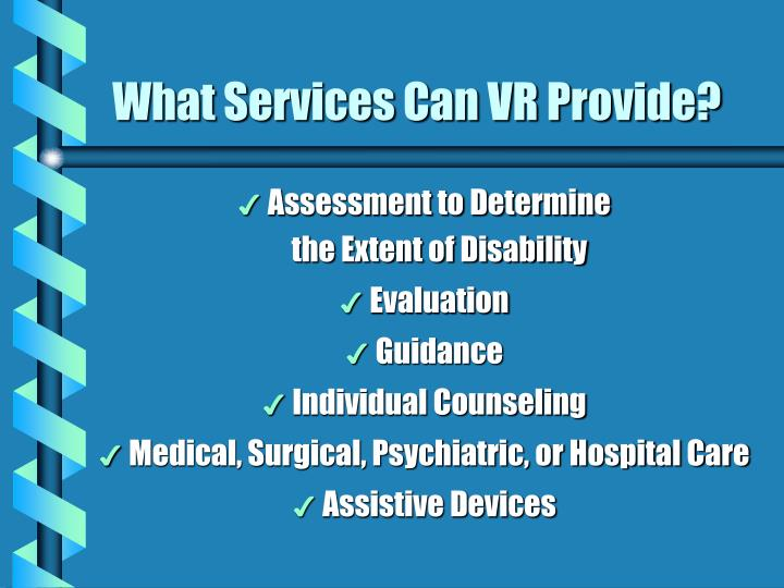 What Services Can VR Provide?