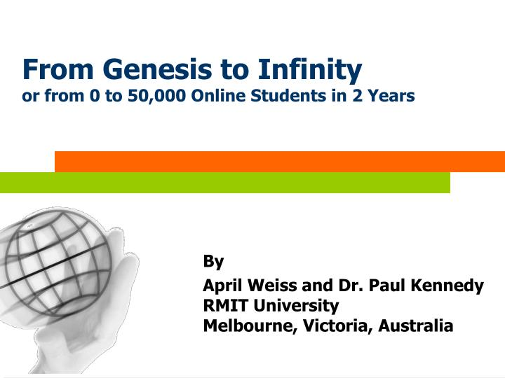 from genesis to infinity or from 0 to 50 000 online students in 2 years n.