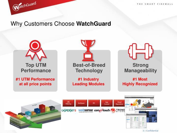 Why customers choose watchguard