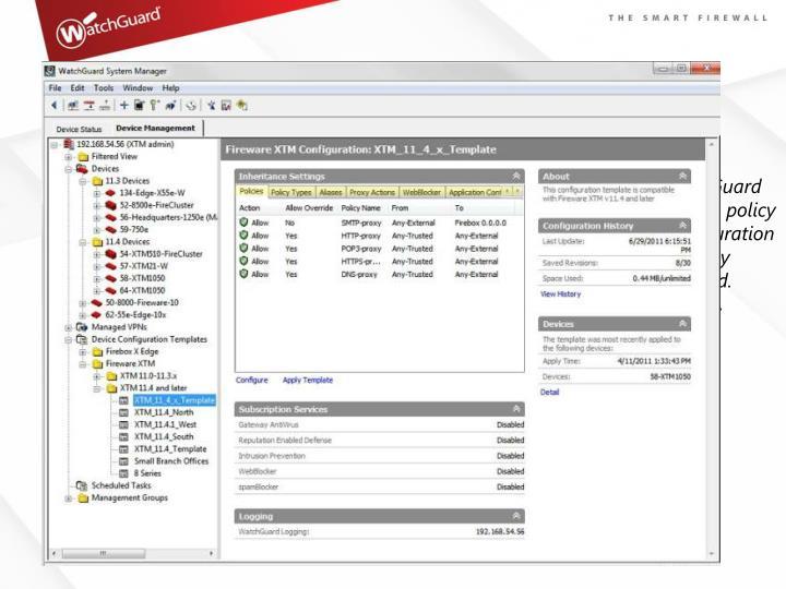 XTM Multi-Box Management Saves Time