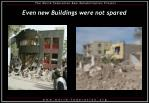 even new buildings were not spared