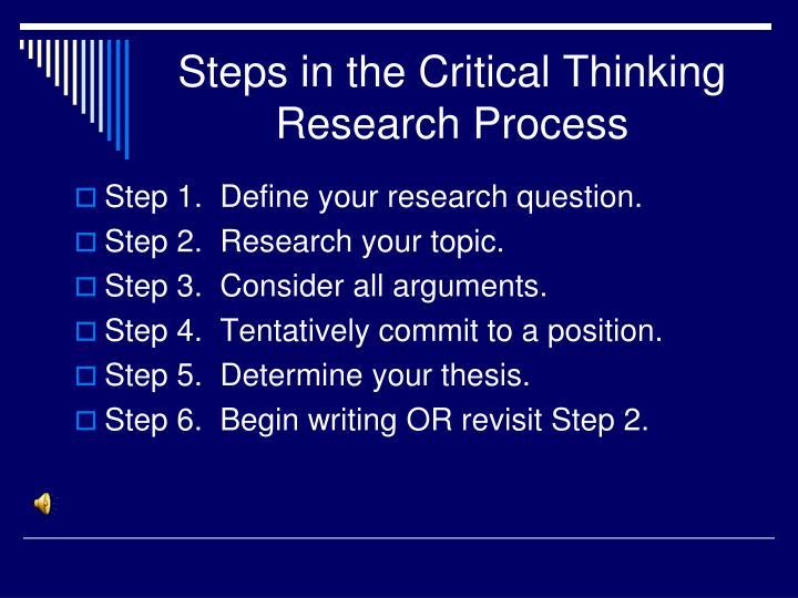 How do i write a critical thinking essay