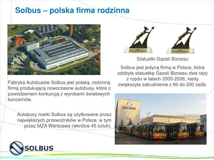 Solbus – polska firma rodzinna