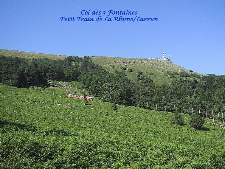 Col des 3 Fontaines