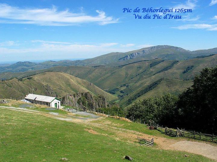 Pic de Béhorlegui 1265m
