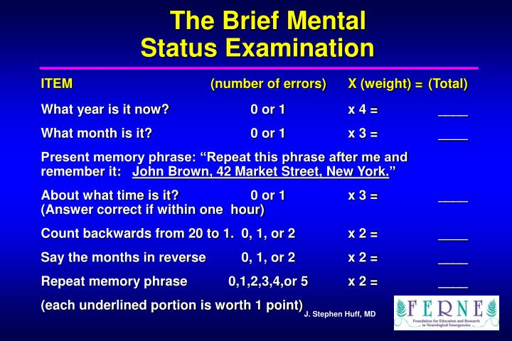 The Brief Mental
